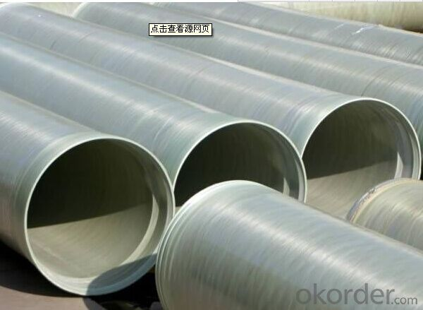 FIBER GLASS REINFORCED PLASTICS PIPE with Economici Characteristic