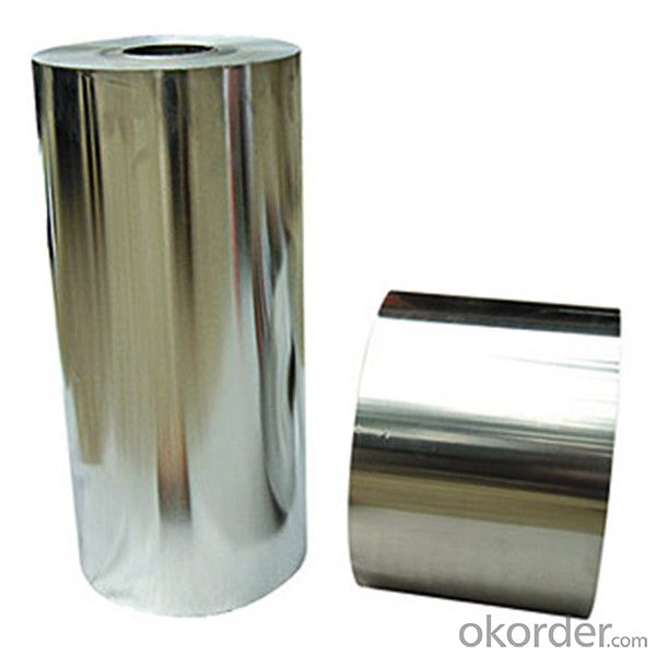 Aluminum Foil  Paper Rolls For Cigarette Packaging with Colored Gold Embossed