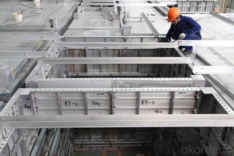 Whole Aluminum Formwork with Different Size with Great Material