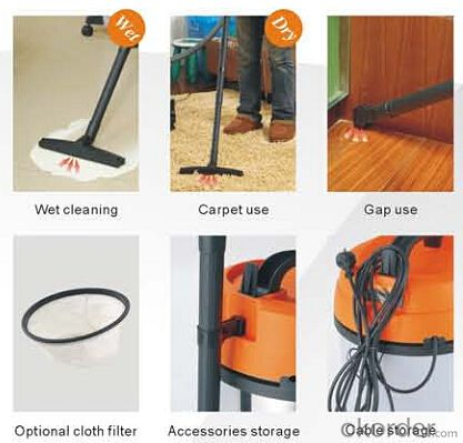 Wet and Dry Vacuum Cleaner Industrial Car Vacuum Cleaner