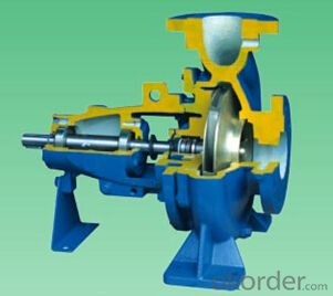 Bare Shaft DIN Standard End Suction Centrifugal Water Pump