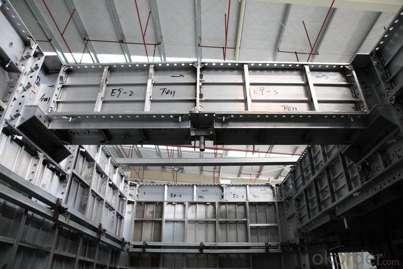 Light Weight and High Quality of Whole Aluminum Formwork System