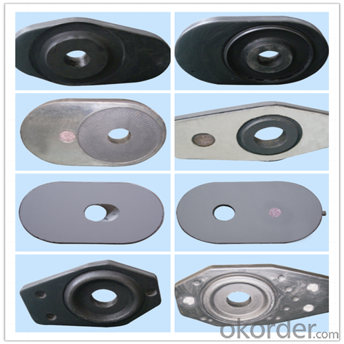 High Performance&Temperature Ladle  Sliding Gate Steel