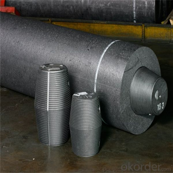 UHP Graphite Electrode with Low Price and Nipple