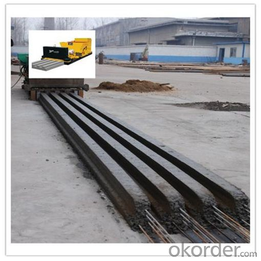Prestressed T beam Making Machine for Roof