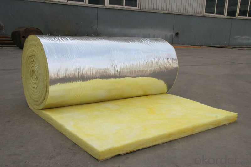 Heat insulation and soundproofing with Aluminium Foil Faced Rock Wool