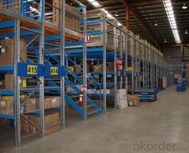 Mezzanine Racking System for Warehouse Storage