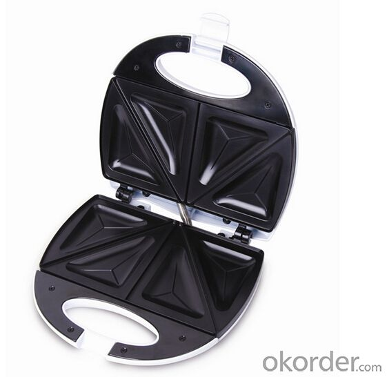 Portable 2-slice Sandwich Toaster/Maker