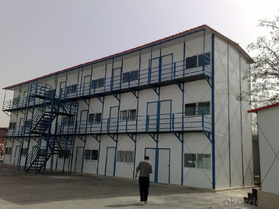 Sandwich Panel House China One Story Flat Top