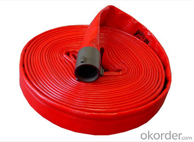 Fire Safety Product/pvc lay flat fire hose many inch pvc fire hose/pvc lining fire hose