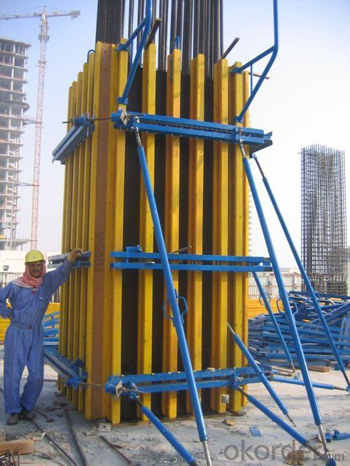 Timer Beam Formwork Systems for Concrete Construction