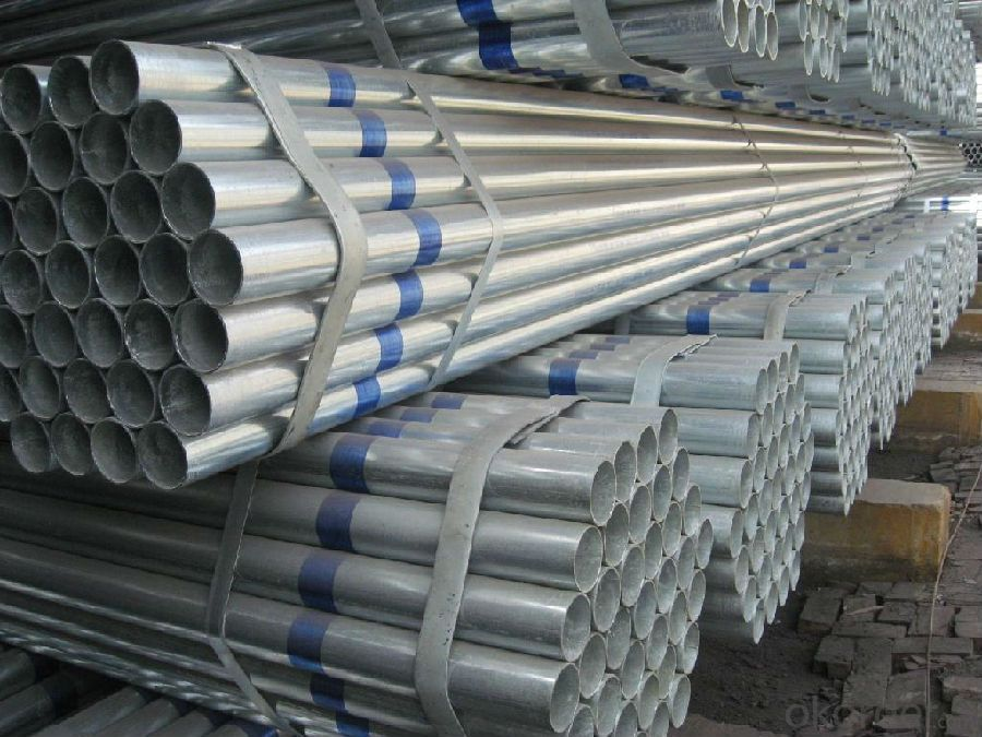 Hot Dipped Galvanized Pipe ASTM A53 100g/200g