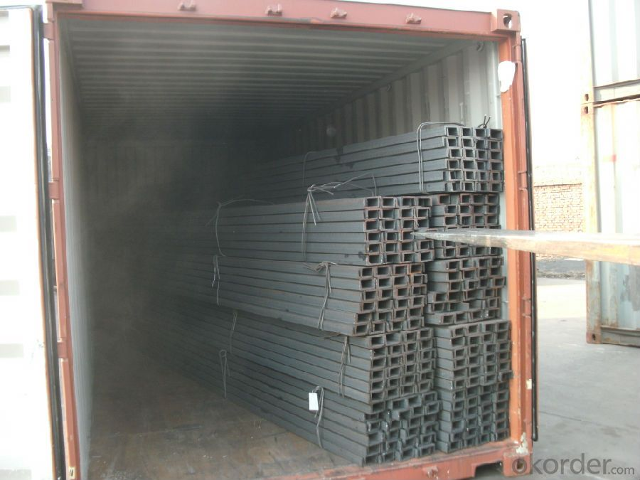 Hot Rolled U-channel Carbon Steel JIS Standard