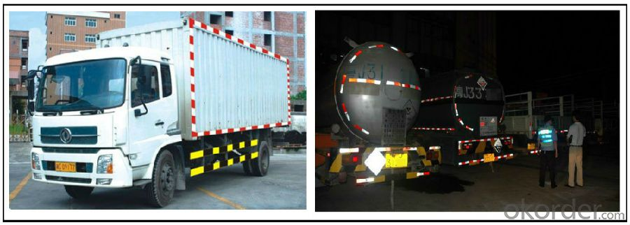 Honeycomb  Adhesive Acrylic Reflective Tape for Truck Light Highway Safety