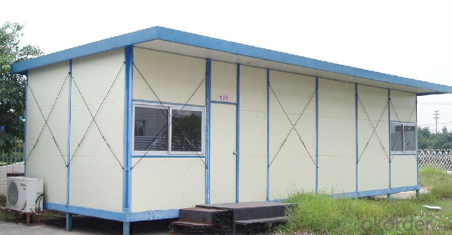 Sandwich Panel House with Morden Design on Sale