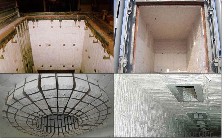 Top Heat Insulation Ceramic Fiber Module HA