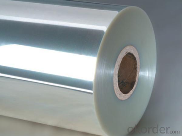 PE release film with aluminum foil applica