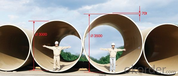 FRP/GRP Pipe Anti Corission Long Term Life