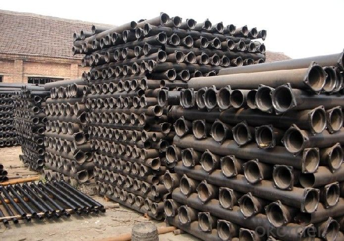 Ductile Iron Pipe Delivery Detail T type / K type / Flange type Length: 6M