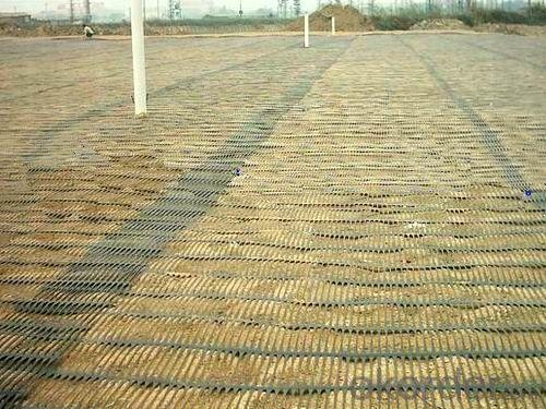 Driveway Biaxial Steel Plastic Geogrid