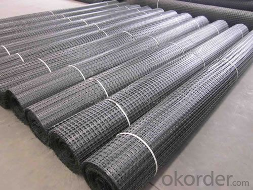 Biaxial Plastic Geogrid Used as Earthwork Products
