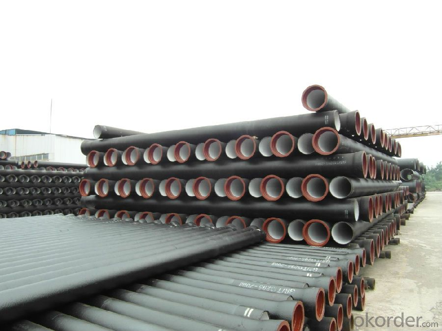 Ductile Iron Pipe ClassK9 Number:T type/K type/Flange type