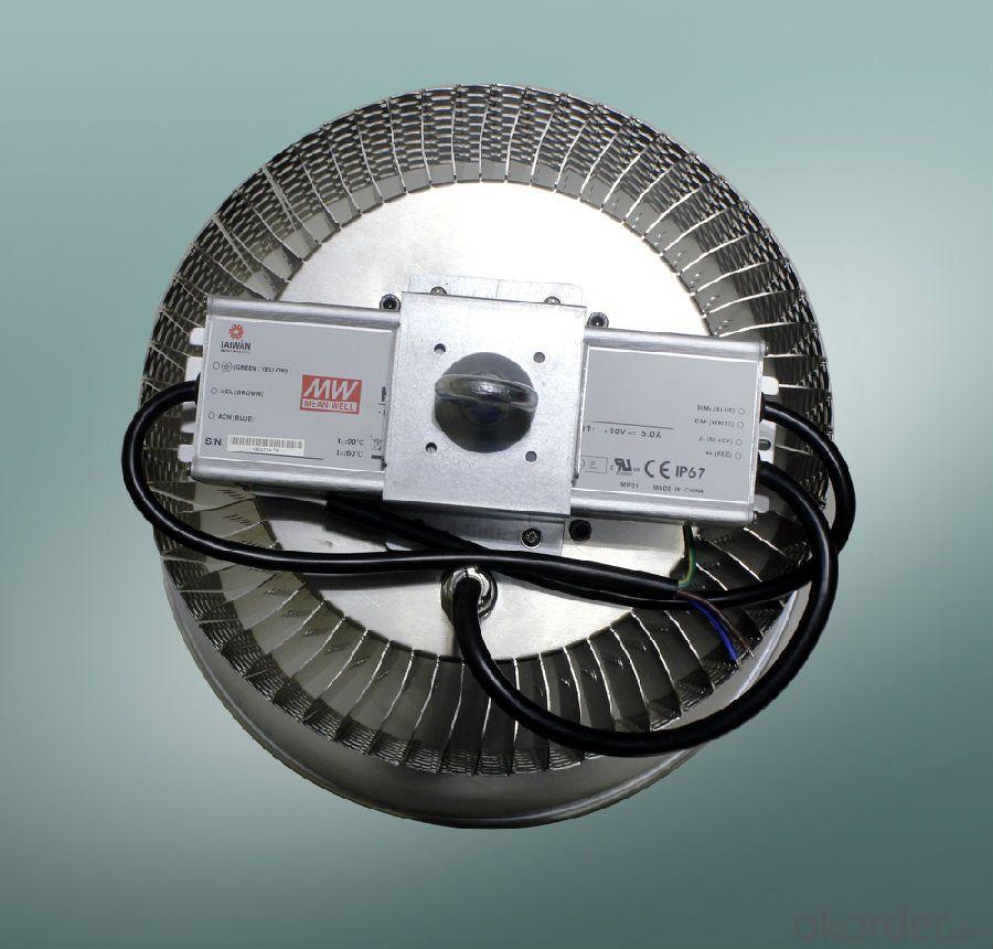 200w led workshop led high bay light Meanwell driver Bridgelux chip led industrial light