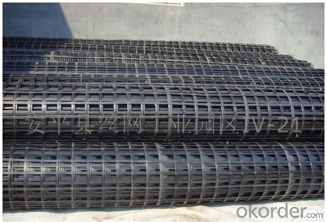 Steel Plastic Geogrid Used in Coal Mine