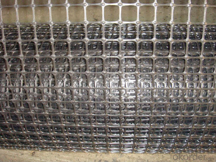 BX Tensile Strength Biaxial Plastic Geogrid