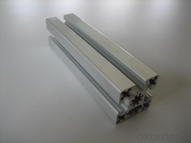 Aluminium Profile with Sand Blasting Treatment SA6