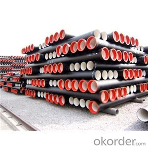 Ductile Iron Pipe EN545 T Type/K Type/Flange Type Length: 6M/NEGOTIATED