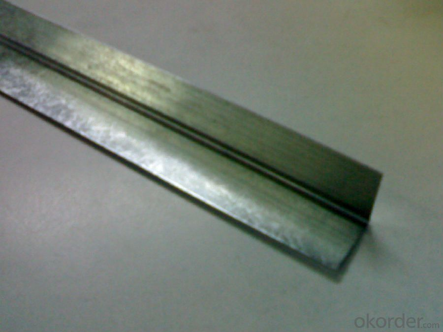 Galvanized Profiles  for Dry Wall Galvanized Profiles