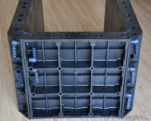 Plastic Formwork Concrete Formwork Steel Scaffolding Wire Mesh Frame with High Quality