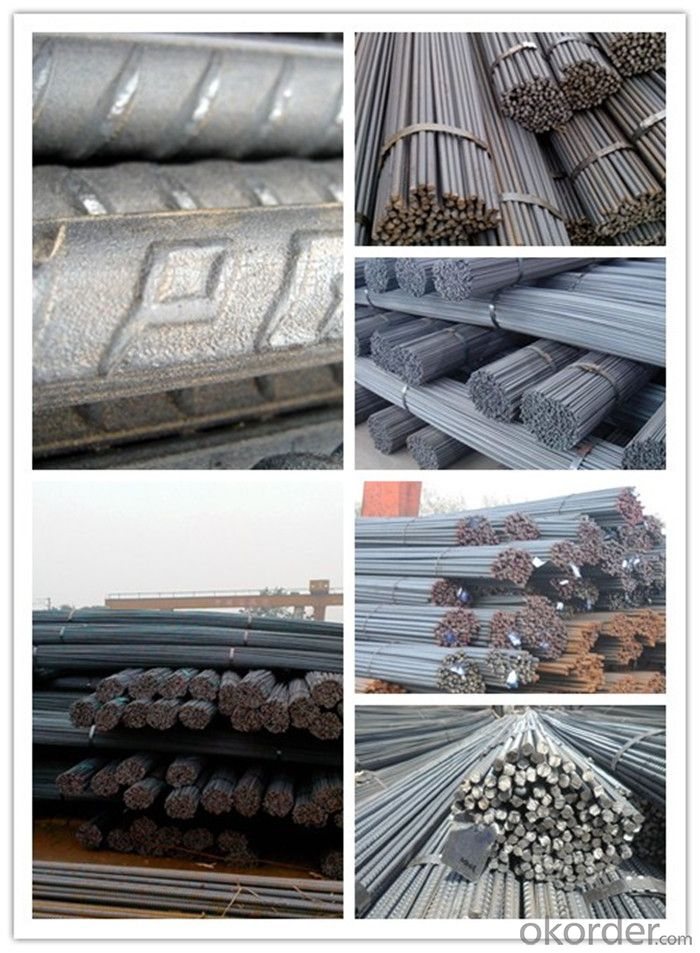 Astm 615 Bs4449 B500B Deformed Steel Rebars