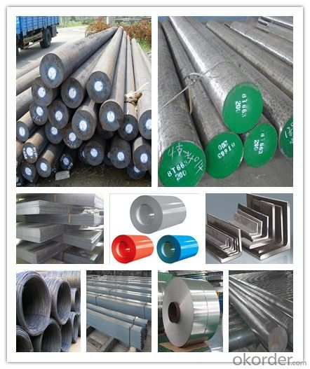 Grade ASTM A36 Carbon Steel Round Bar with High Tensile