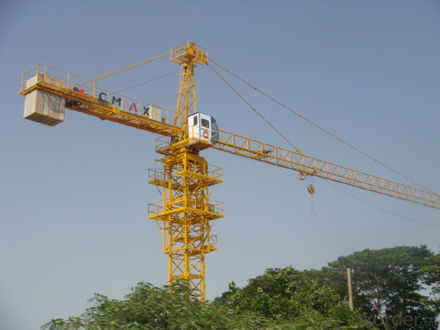 China Construction Machinery QTD5020 10t Luffing Tower Crane