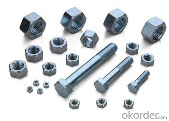 Hexagonal Head Bolt Full Thread, Mushroom Square Head Bolt,Screws Nuts or Bolts