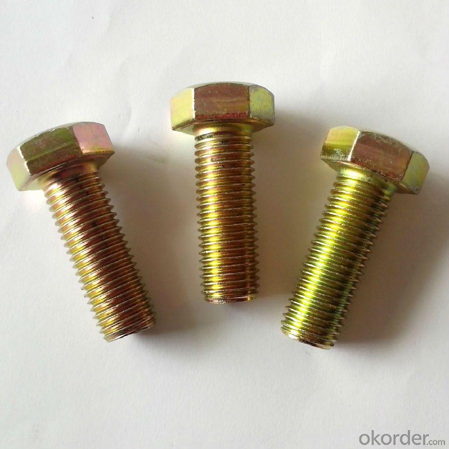 Hexagonal Head High Tensile/Heat Treatment Bracket Bolts