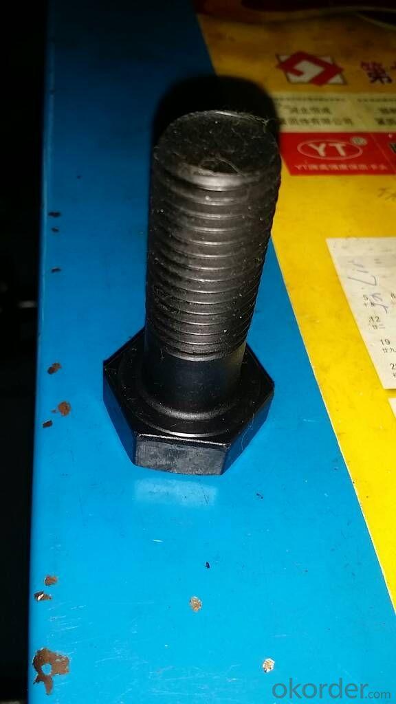 HDG,Zinc plated, Class4.8 5.8 8.8 DIN931 M12 Hex Head Bolts