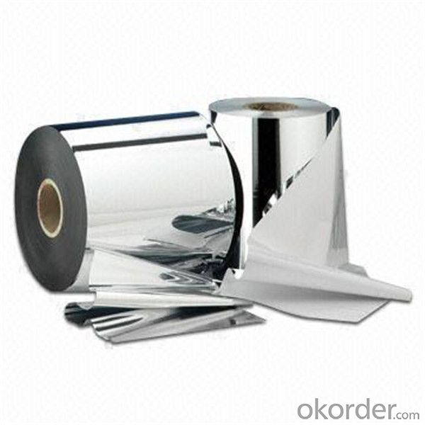Aluminium Foil Laminated With Pet Film High Quality