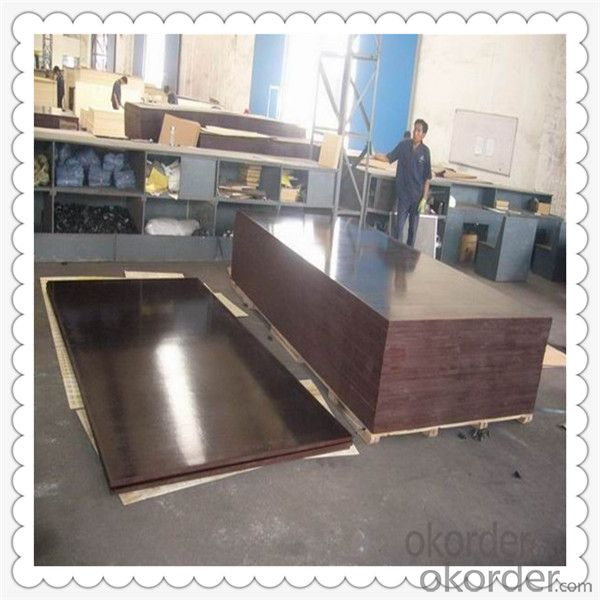Brown Color Film Faced Plywood for Myanmar Marcket