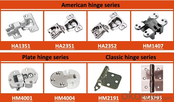 Cabinet Hydraulic Hinge Cold-rolled steel for Furniture Cabinets,Door, Factory