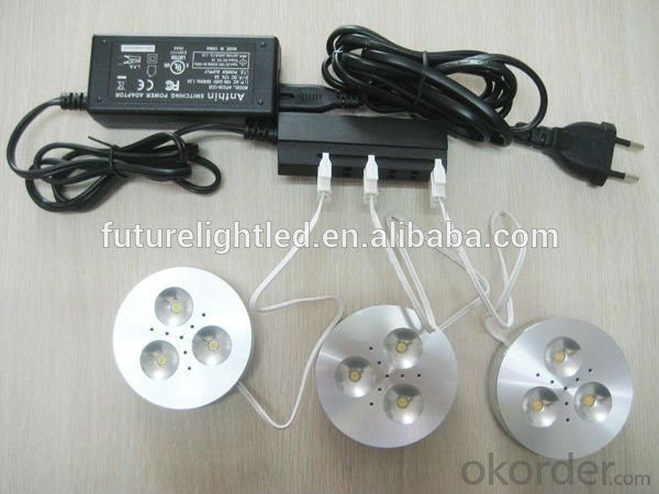 3W 12V led cabinet light