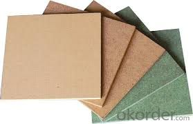 Slot MDF/ Plain/Wood Veneer/PVC /HPL/UV/Melamine Laminated MDF and HDF Board