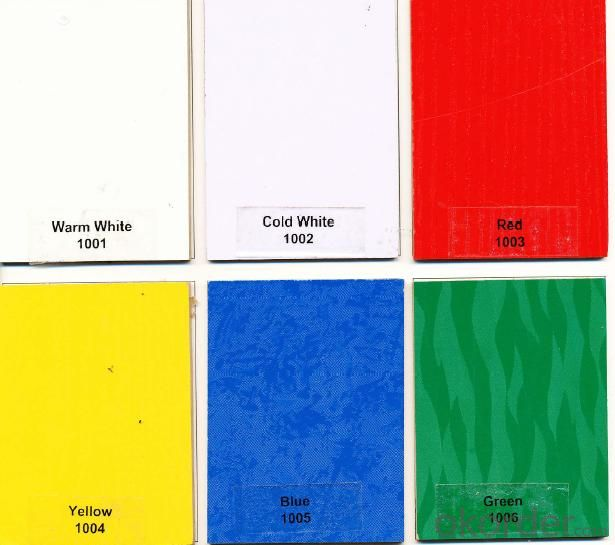 Melamine MDF in Solid Colors for Indoor Decoration