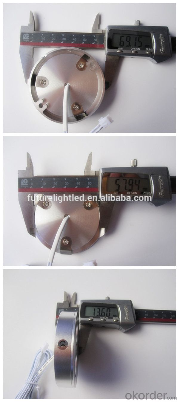 3W dimmable puck light