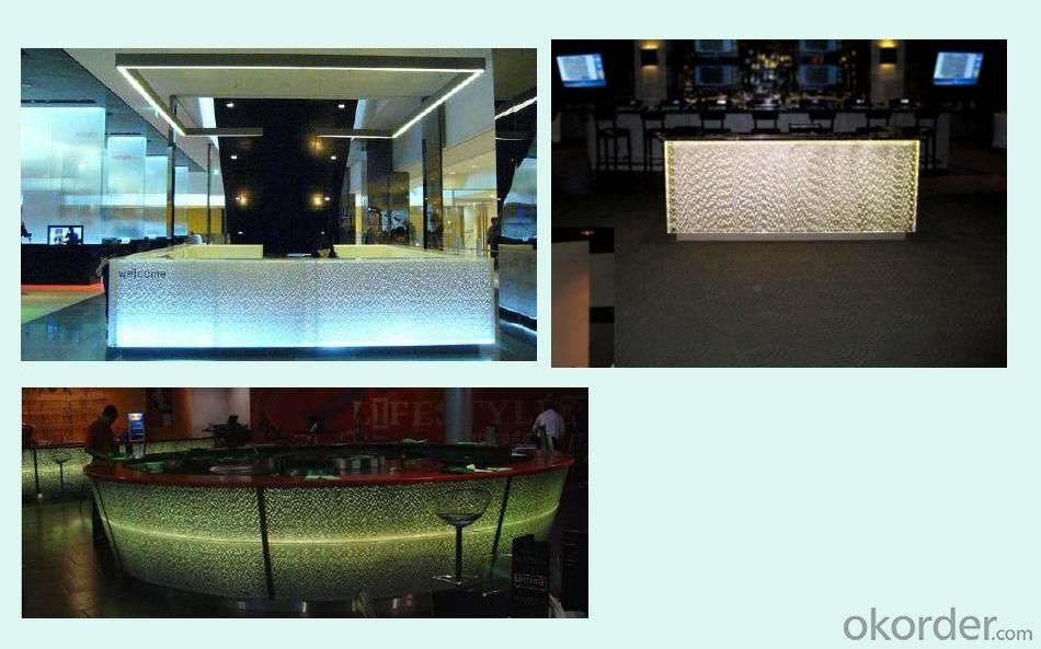 CMAX Resion Natural Panel make your shopping mall Reception