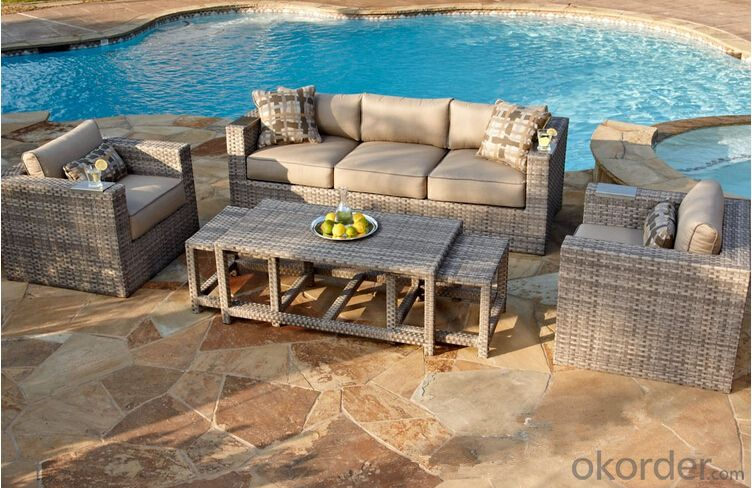 Outdoor Furniture Sofa Sets PE Rattan CMAX-WD0001