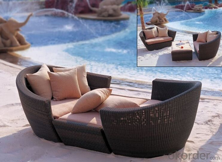 Outdoor Furniture Sofa Sets PE Rattan CMAX-WD0006