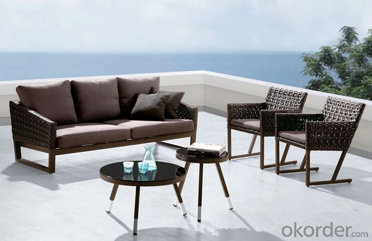 Outdoor Furniture Sofa Sets PE Rattan CMAX-WD0017